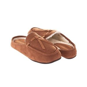 NEW comfy Seranoma Slippers Moccasin Mules Brown